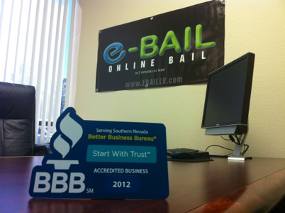 Better Business Bureau Rated Bail Bonds in Las Vegas