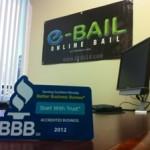 E Bail Bonds Las Vegas BBB accreditation