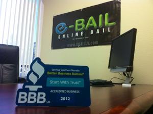 Online Bail Bonds in Las Vegas