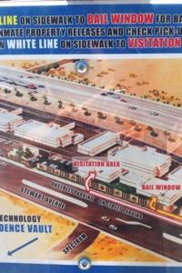 Map of the Las Vegas Jail