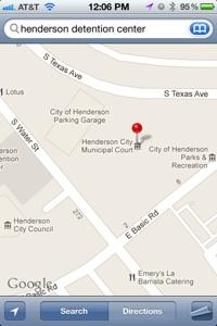 Henderson Detention Center Location
