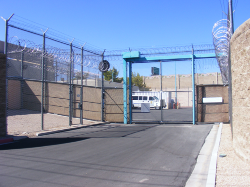 Misdemeanor arrest warrant detainees are booked into the Las Vegas Jail.