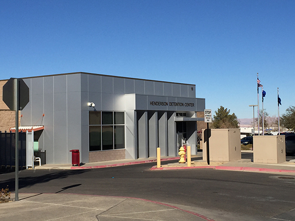 Post a bail bond at the Henderson Detention Center