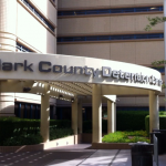 Clark County Jail - Entrance