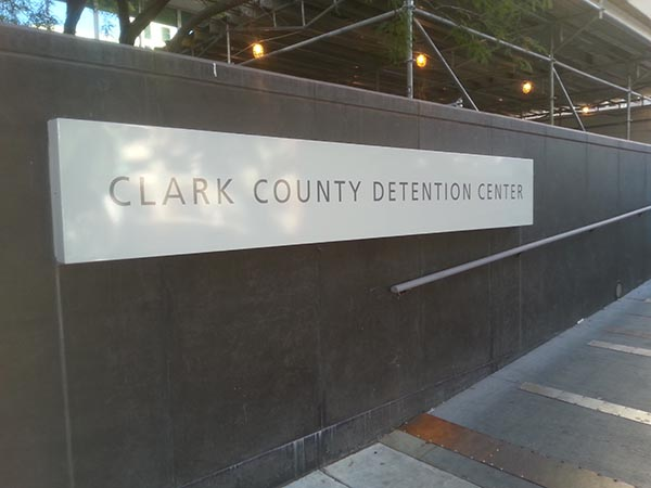 You will need to secure a bail bond if you are detained at the Clark County Detention Center