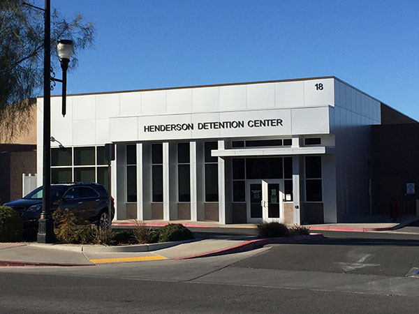 Cash Bonds and Surety Bonds for the Henderson Detention Center