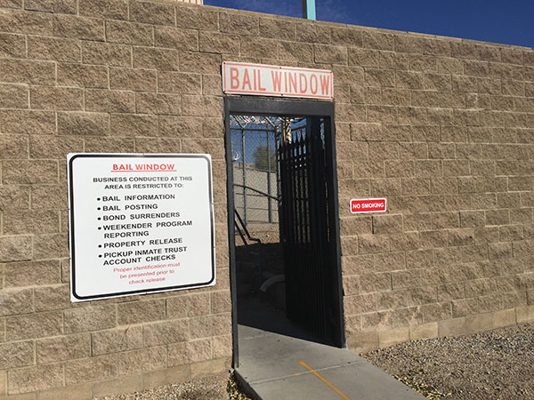 How to post bail at the City of Las Vegas Detention Center