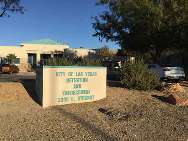 How to post bail at the City of Las Vegas Jail