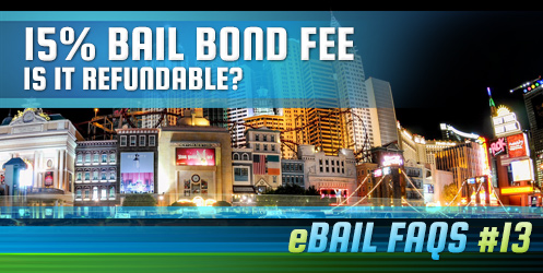 15% Bail Bond Fee. Is it Refundable?